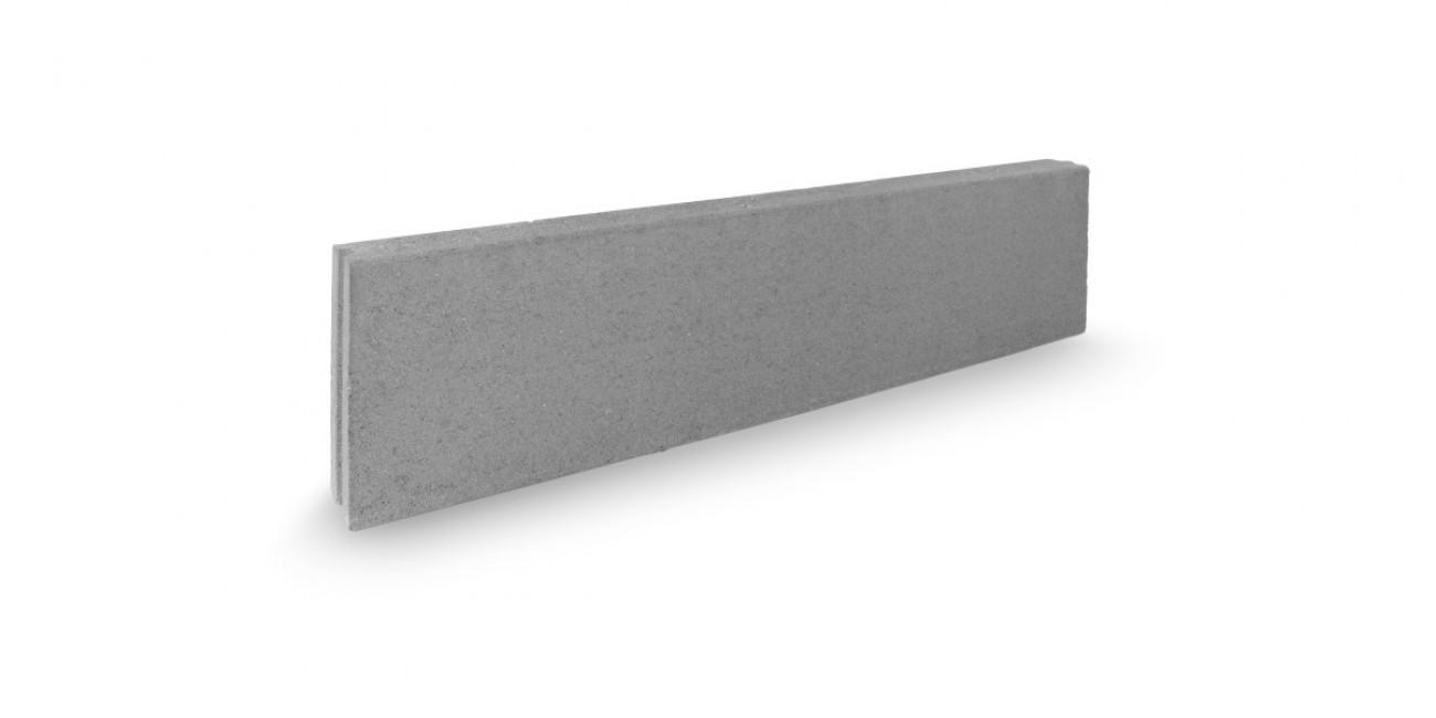 Cordonata grigia marciapiede 100x25x8