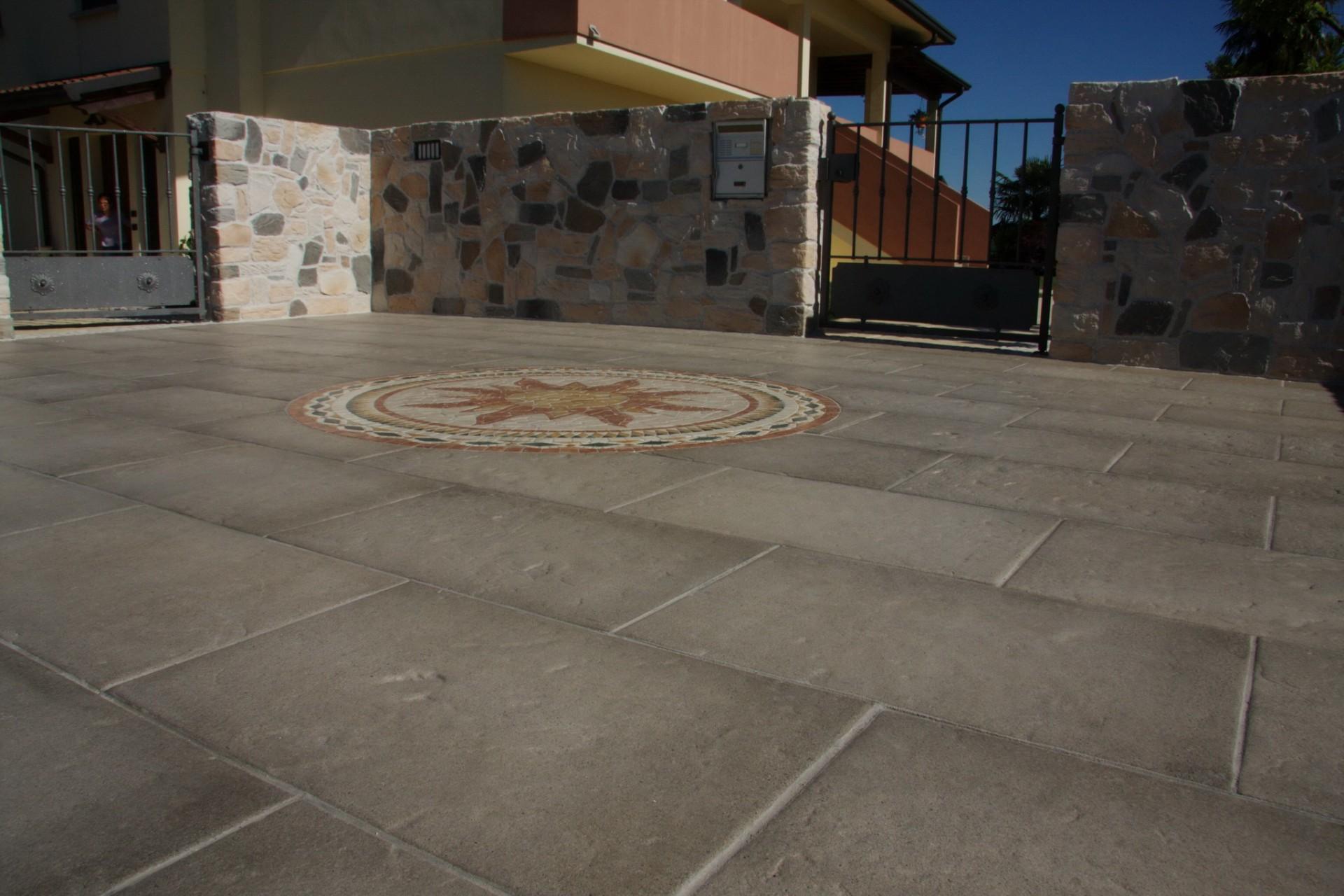 Lastre pavimenti esterni in pietra serena maspe