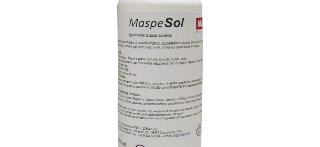 MaspeSol pulitore a base solvente