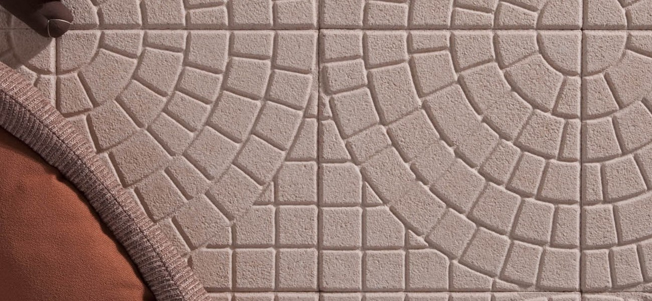 Rosa Dolomiti pavè circolare