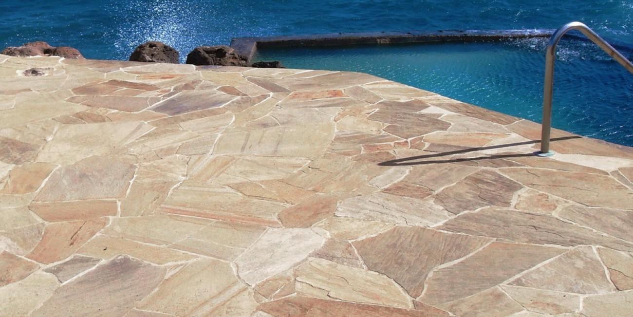 Super Pietra Naturale Santos Yellow pavimento | MASPE QA98